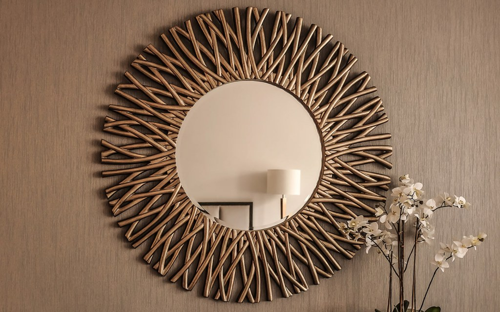 Mirror frames help define the style of the mirror