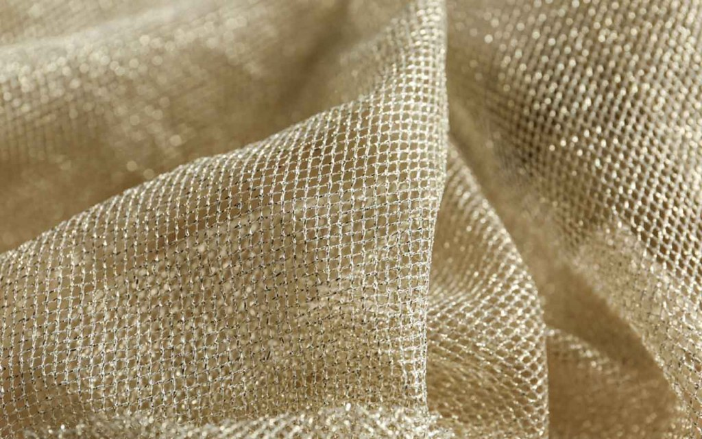 Net is the best fabric for sheer curtains