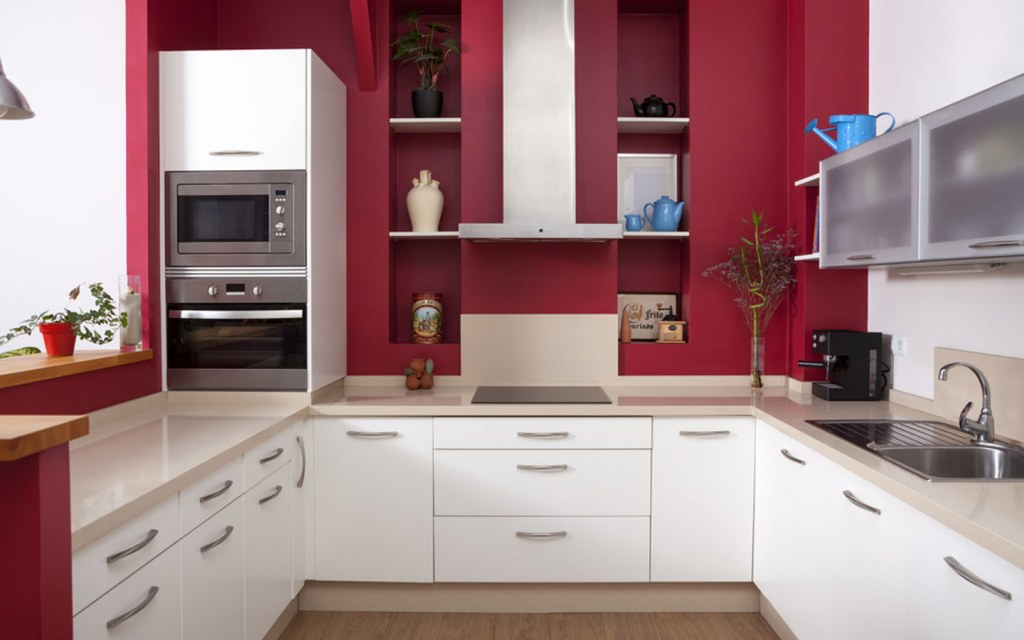 u-shaped kitchen layout for homes